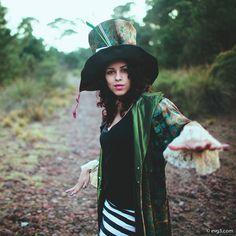 Last photoshoot, hatter costume.