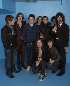 The Strokes and Arctic Monkeys
