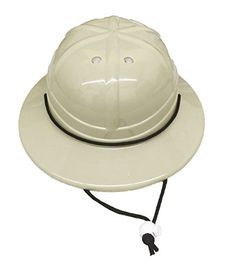 Kids' Costume Hats - GiftExpress Kids Hard Plastic Safari Pith Helmet >>> Want additional info? Click on the image.