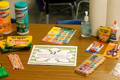 AWESOME Back to School Night Ideas!  (and awesome blog!!!!!)
