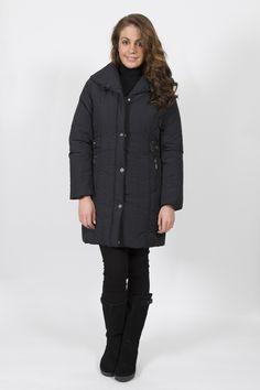 STEILMANN PUFF COLLAR 3/4 COAT Winter Collection, Fall Winter, Fashion Dresses, Winter Jackets, Coat, Beautiful, Fashion Show Dresses, Winter Coats, Sewing Coat