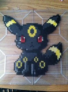 Umbreon Pokemon Perler by Khoriana on DeviantArt