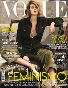 Vogue Portugal April 2015 | Jacquetta Wheeler by Frederico Martins