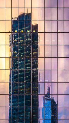 Estos 25 Maravillosos Reflejos Harán Que Tu Mundo Quede Al Revés. Rascacielos.