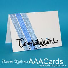 AAA Cards: CAS Game #103 - Celebrate