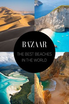 These Are The Best Beaches in The World - HarpersBAZAAR.com