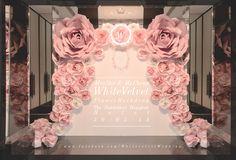Wedding Backdrop / Decoration !!   Velvet is White