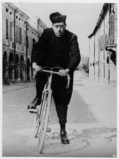 Don Camillo looking for trouble