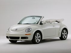 VW Beetle Triple White Convertible....Love it!