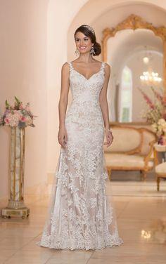 5984 V Neck Wedding Dress by Stella York