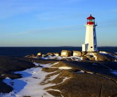 Just south of Halifax in central Nova Scotia, is a wonderful small fishing community worth visiting. The name of the community is Peggy's Cove, after the cove of the same name.