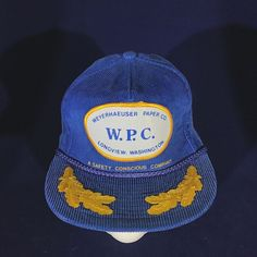 92cdbc6f1be Details about Vintage Western Machine Works Big Patch Baseball Hat Snapback  Scrambled Eggs Cap
