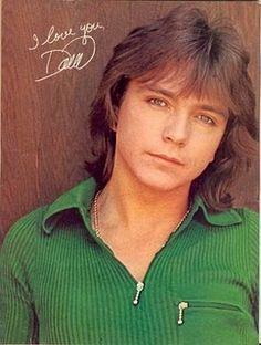 I had a huge crush on David Cassidy! (who didn't?)