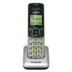 VTech CS6409 DECT 6.0 Cordless Accessory Handset for CS6419 and CS6429 (Accessory handset only - requires a CS6419, CS6428 or CS6429 series phone to operate)