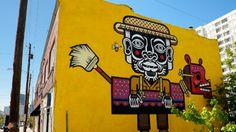 Neuzz, Atlanta, EUA, 2012. Imagem: Living Walls: The City Speaks.