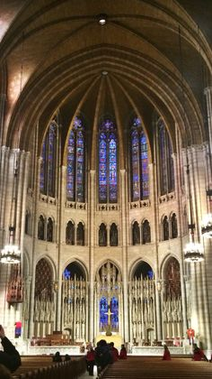 Riverside Church in New York, New York. Would love to get married here.