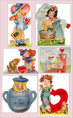 If you love the Vintage Valentines Day Cards here is a great source!