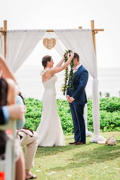 Click through to website to see 20 more amazing wedding arch and canopy ideas: http://www.confettidaydreams.com/21-amazing-wedding-arch-canopy-ideas/