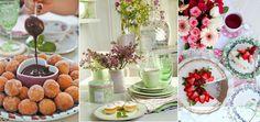 Encantada : Inspiração chá da tarde