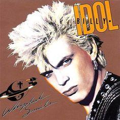 Billy Idol Whiplash Smile - compact disc
