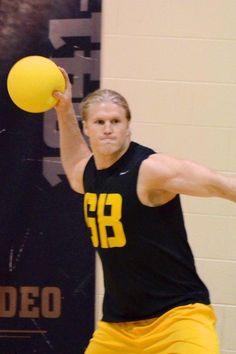 Packer Dodgeball! Clay Matthews.