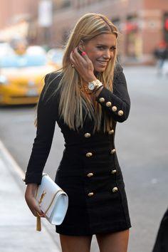 Sylvie Meis wearing Balmain