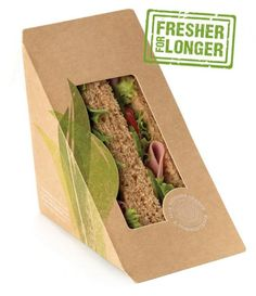 sandwich packaging - Recherche Google … | Pinteres…