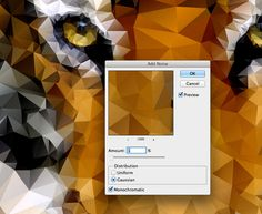 How To Create Geometric Low Poly Art The Easy Way #photoshop #illustrator