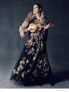Manon Leloup Enchants in L'Officiel Turkey by Emre Guven
