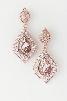 ღ ღ lovely earrings ღ ღ Bridal Earrings, Wedding Jewelry, Gold Earrings, Bridal Accessories, Jewelry Accessories, Bridesmaid Accessories, Bridesmaid Dresses, Fashion Earrings, Fashion Jewelry