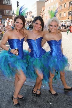 Peacocks at Aalborg Carnival