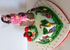 Pregnant Fairy Baby Shower Cake