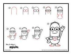 Doodly: How to Draw a Minion Artist/Portfolio: Art for Kids Hub Location: USA Level: Dabbler Doodled this? Minions, Minion Art, Minion Drawing, Drawing Lessons, Drawing Techniques, Art Lessons, Drawing Tutorials, Video Tutorials, Cartoon Drawings