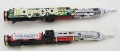 Sonicare toothbrush teardown: microcontroller H bridge and inductive charging