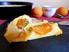LES METS TISSÉS: Cuisine d'ici et d'ailleurs: CLAFOUTIS ABRICOT COCO