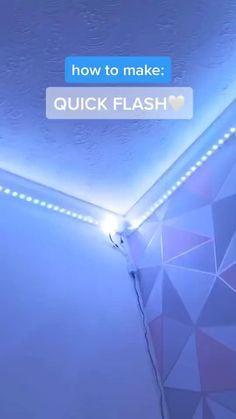 Led Room Lighting, Room Lights, Strip Lighting, Led Light Strips, Led Strip, Diy Led, Cute Bedroom Decor, Neon Room, Cute Room Ideas