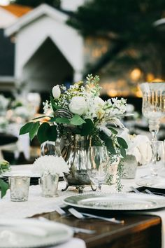 Antique Silver Centerpieces