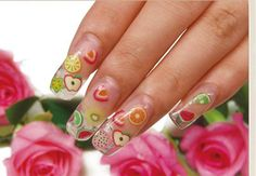 Exotic Acrylic Nail Designs Ideas: 01 02 ~ fixstik.com Nail Designs Inspiration