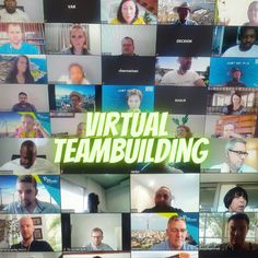 New Reality, New Experience. Practice social distancing and embrace the virtual experience. Teambuilding in a virtual way. Team Building Program, Corporate Team Building, Team Building Activities, Giant Slip And Slide, Outdoor Activities, Fun Activities, New March, Creative Skills, Teamwork