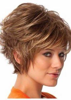 Пышная укладка на короткие волосы | Стрижки и Прически