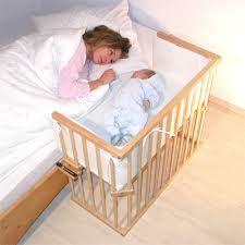 Resultado de imagem para berço acoplado na cama