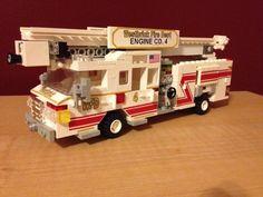 Westbrick Fire Dept Engine 4: A LEGO® creation by Alex W : MOCpages.com