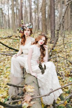 Fairytale wedding,Enchanted forest wedding inspiration shoot with woodland wedding details and ideas for a fairytale forest wedding   fabmood.com