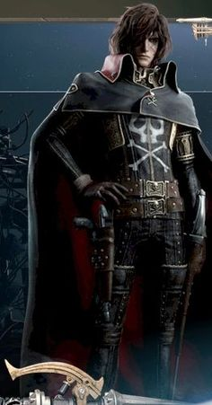 From Captain Harlock Space Pirate