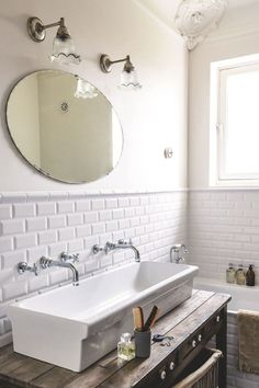 When you are searching for Small Bathroom Remodel style ideas, it helps to have easy obvious project strategy. Because designing an ideal remodel ideas for bathroom sink a budget Laundry In Bathroom, Bathroom Renos, Bathroom Ideas, Bathroom Vanities, Vanity Faucets, Bathroom Pink, Farmhouse Sink In Bathroom, Bathroom Small, Bathroom Modern