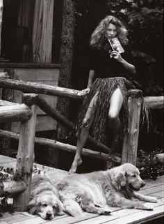 Photography by Bruce Weber for the photographic supplement to Vogue Italia (November 2003).