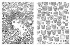 Amazon Posh Adult Coloring Book Soothing Designs For Fun And Relaxation Books 0050837348899 Andrews McMeel Publishing LLC