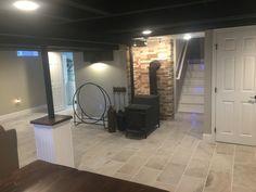 Black Ceiling, Basement, Home Appliances, Flat, Wood, Home Decor, House Appliances, Bass, Decoration Home