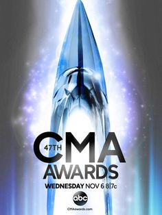 "Just announced! ""The 47th Annual CMA Awards"" will air LIVE from Nashville Wednesday, Nov. 6 on ABC!  >>LIKE and REPIN if you're excited for Country Music's Biggest Night!"