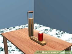 Image titled Make a Can Crusher Step 9 Easy Wood Projects, Class Projects, Projects